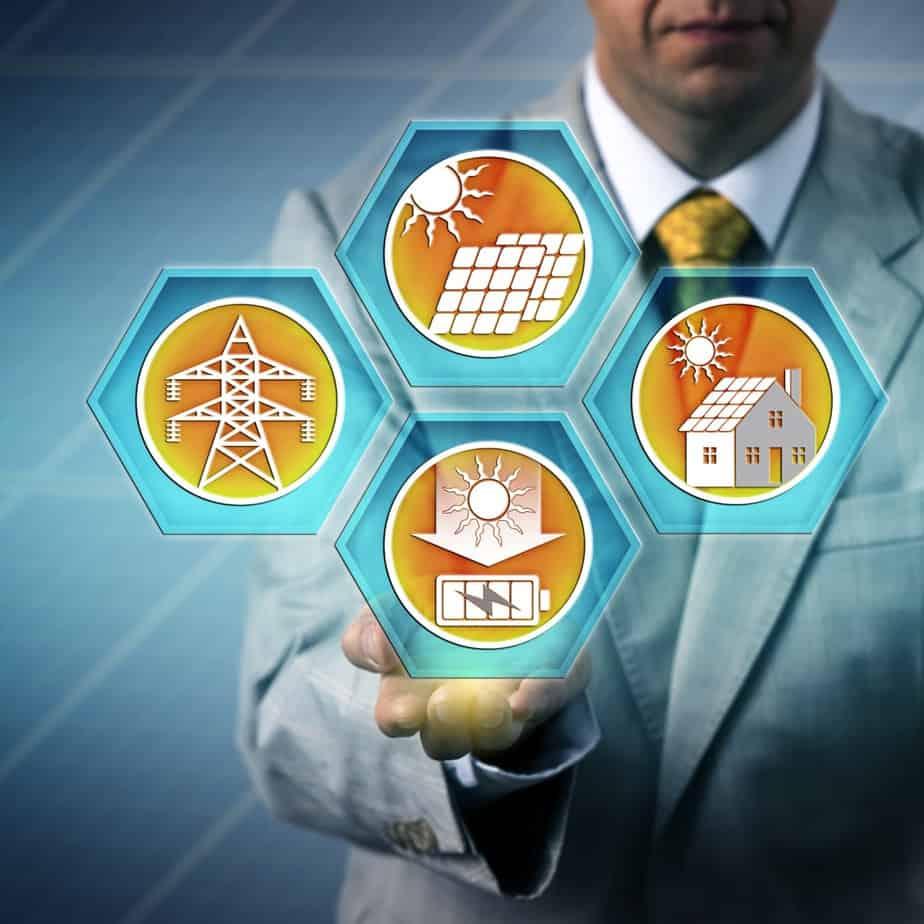 Solar generation process